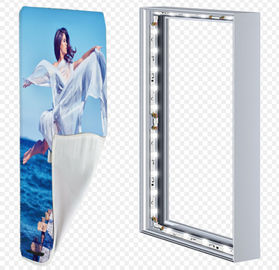 Cina Custom Made Light Weight Advertising Light Box Untuk Iklan Jalan / Bandara Distributor